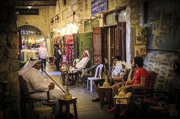 تقرير عن سوق واقف الدوحة