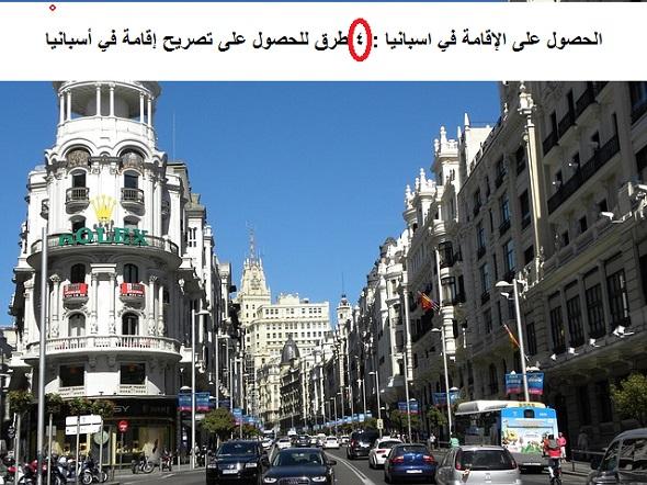 Photo of الحصول على الإقامة في اسبانيا : 4 طرق للحصول على تصريح إقامة في أسبانيا
