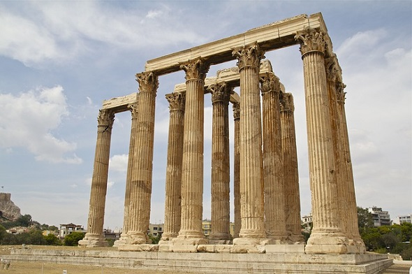 الاماكن السياحية في اثينا اليونان