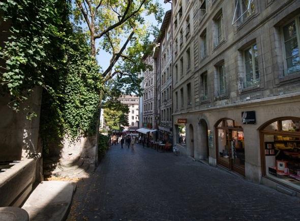 بلدة جنيف القديمة