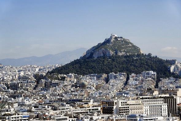 الطبيعة والمعالم في أثينا