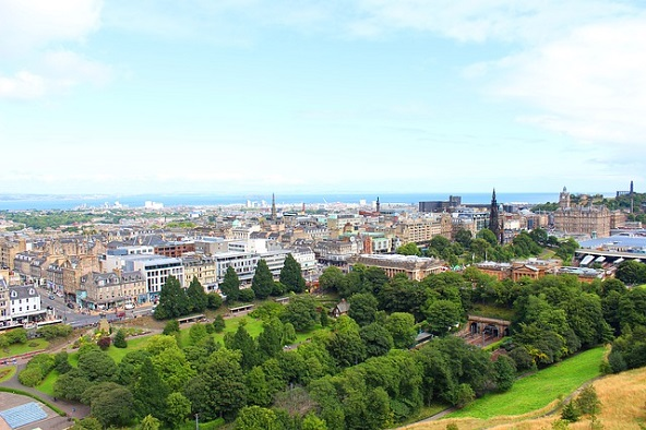 الاماكن السياحية في إدنبرة