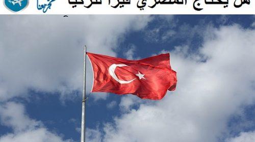 هل يحتاج المصري فيزا لتركيا ؟ إجابات تفصيلية حول اجراءات الدخول الى تركيا