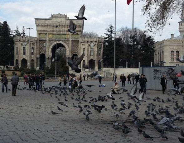 ساحة بايزيد اسطنبول