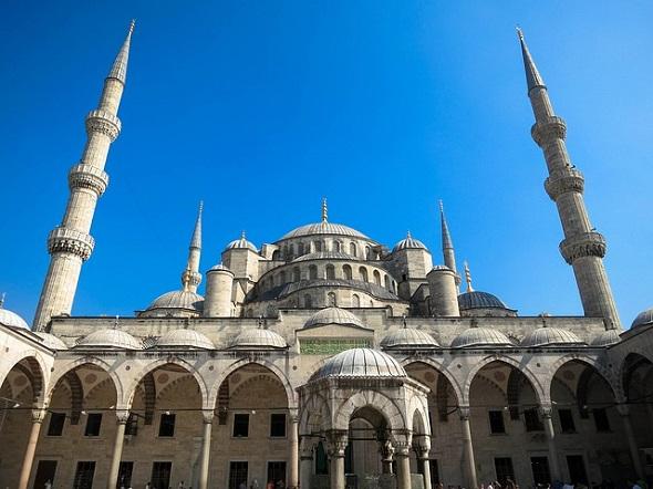 الجامع الازرق اسطنبول