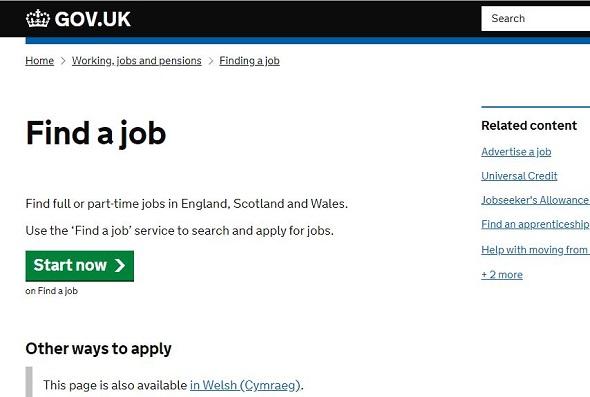 مواقع البحث عن العمل في بريطانيا