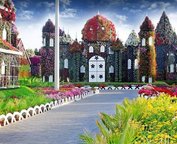 حديقة الورود دبي