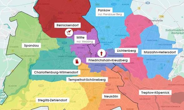 بلديات برلين