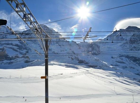 التزلج على الجليد في انترلاكن سويسرا