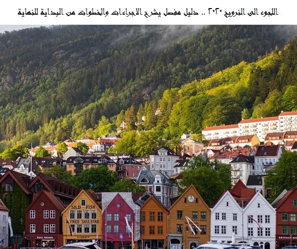 اللجوء الى النرويج 2020
