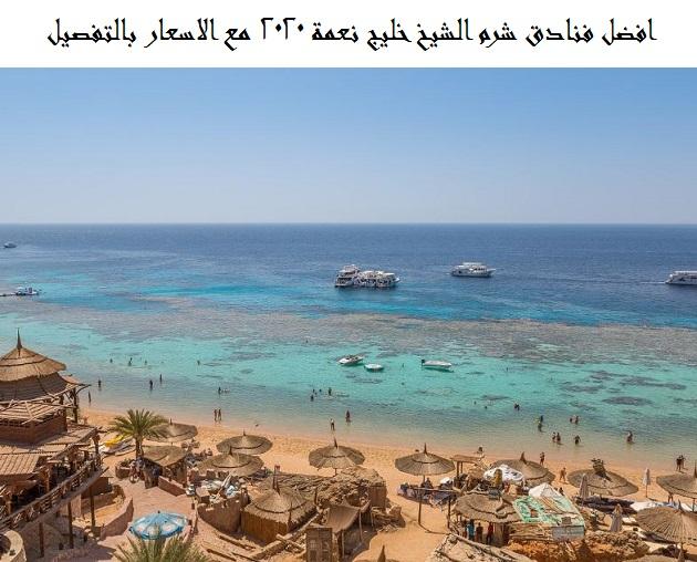 افضل فنادق شرم الشيخ خليج نعمة 2020 مع الاسعار بالتفصيل