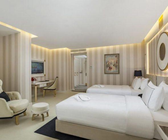 أنواع غرف فندق وأجنحة رامادا إسطنبول سيسلي