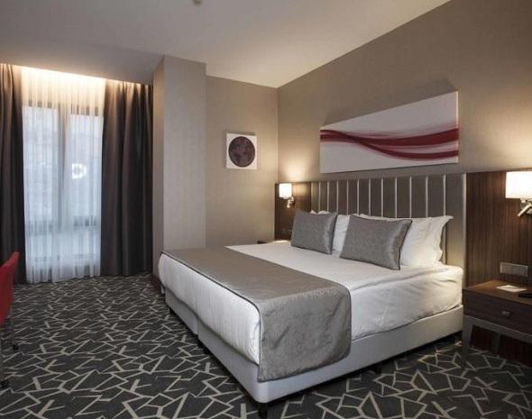 انواع غرف فندق رمادا اسطنبول اليبيكوي