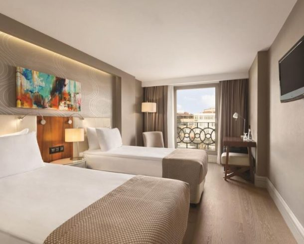 أنواع فندق رمادا اسطنبول جراند بازار