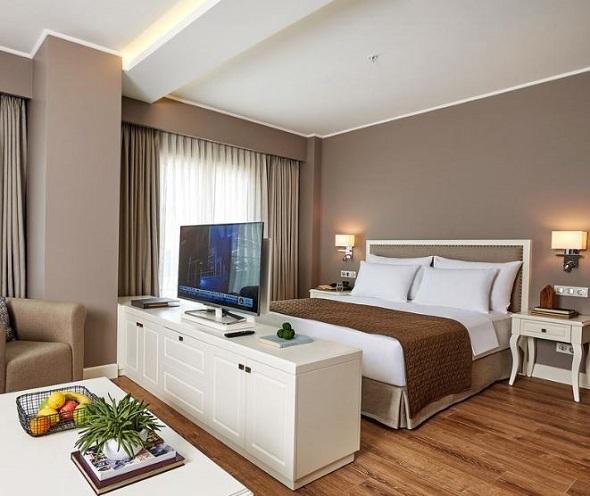 أنواع غرف فندق ريناتا البوتيكي شيشلي