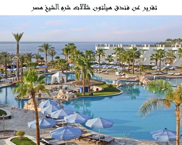 فندق هيلتون شلالات شرم الشيخ
