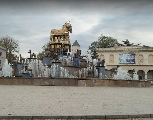 الحي التاريخي في كوتايسى