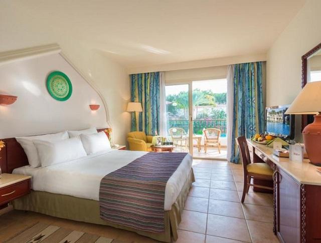 الغرف الفندقية في بارون بالمز ريزورت