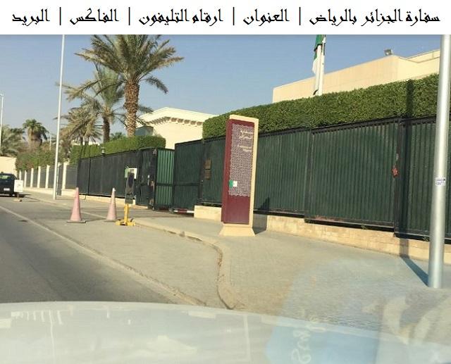 سفارة الجزائر بالرياض