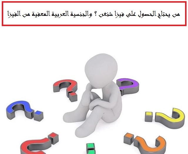 Photo of من يحتاج الحصول على فيزا شنغن ؟ والجنسية العربية المعفية من الفيزا