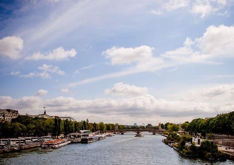 جولات نهر السين باريس