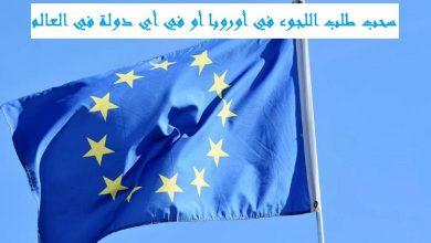 صورة سحب طلب اللجوء في أوروبا أو في أي دولة في العالم