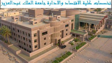 صورة تخصصات كلية الاقتصاد والادارة جامعة الملك عبدالعزيز ودرجاتها العلمية