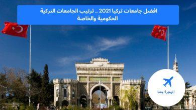افضل جامعات تركيا 2021