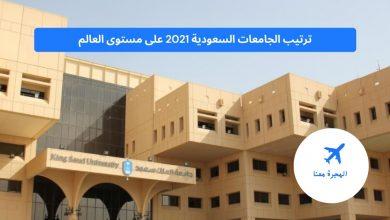ترتيب الجامعات السعودية 2021
