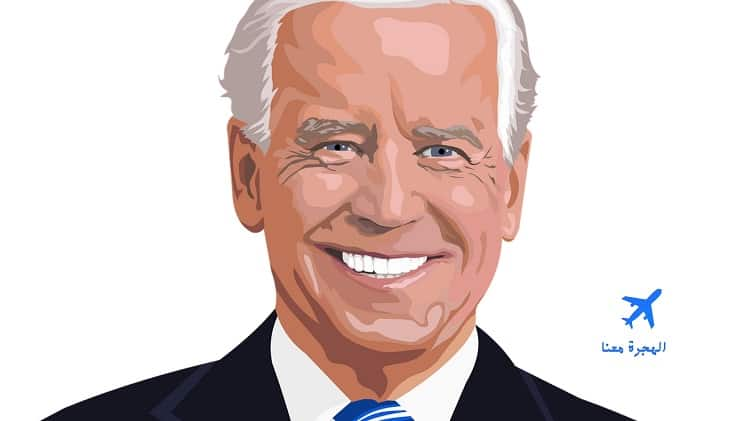 قرارات جو بايدن مع اللاجئين