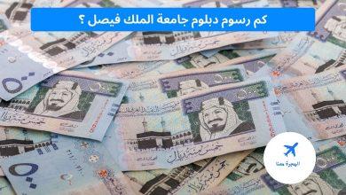 رسوم دبلوم جامعة الملك فيصل