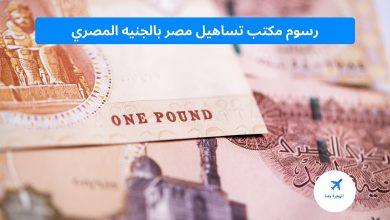 رسوم مكتب تساهيل مصر